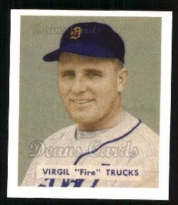 1949 Bowman REPRINT #219  Virgil Trucks