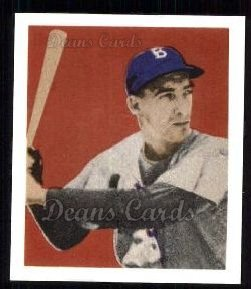 1949 Bowman REPRINT #73  Billy Cox