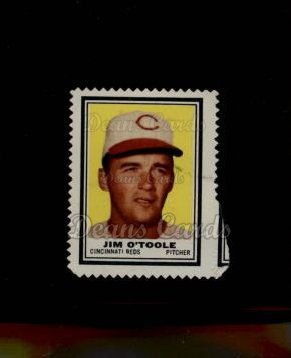 1962 Topps Stamps #118  Jim O'Toole