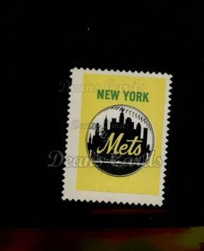 1962 Topps Stamps #152   New York Emblem