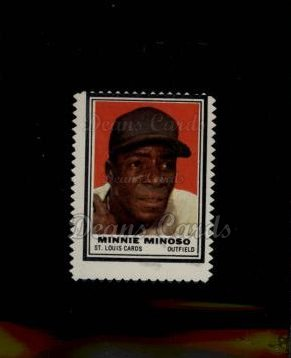 1962 Topps Stamps #188  Minnie Minoso