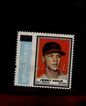 1962 Topps Stamps #2  Jerry Adair