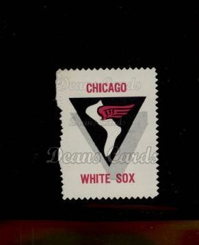 1962 Topps Stamps #21   Chicago Emblem