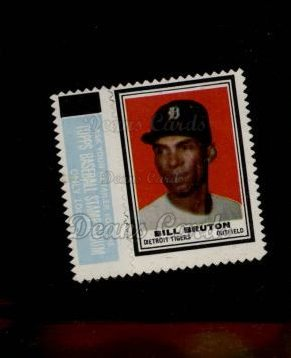 1962 Topps Stamps #43  Bill Bruton