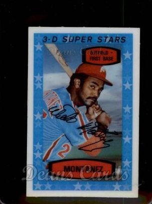 1975 Kelloggs #31  Willie Montanez