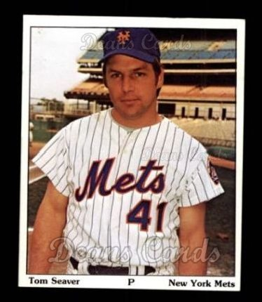 1975 SSPC Puzzle Back #23  Tom Seaver