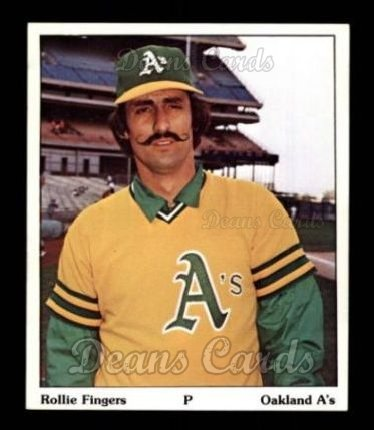 1975 SSPC Puzzle Back #9   Rollie Fingers