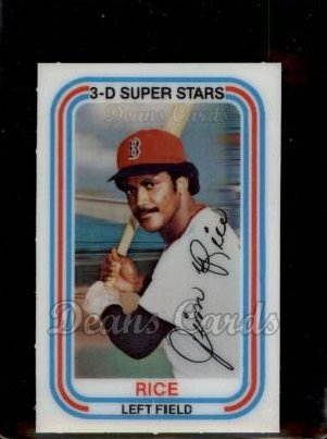 1976 Kellogg #10  Jim Rice