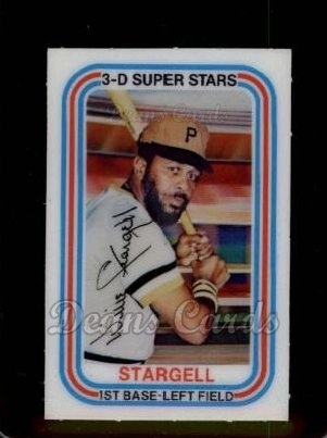 1976 Kelloggs #22  Willie Stargell