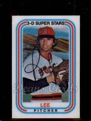 1976 Kelloggs #29  Bill Lee