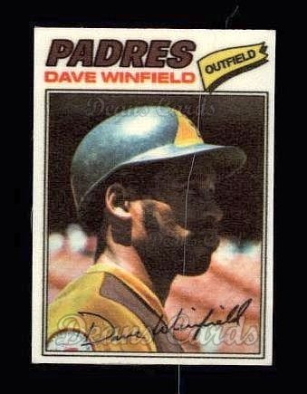 1977 Topps Cloth #52  Dave Winfield