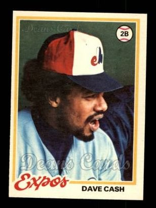 1978 O-Pee-Chee #18  Dave Cash