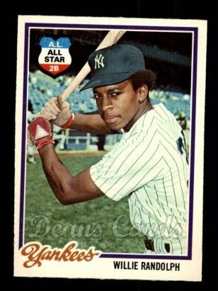 1978 O-Pee-Chee #228  Willie Randolph