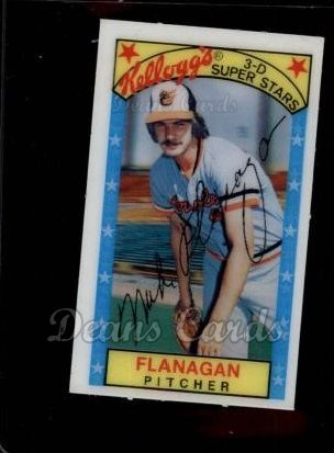 1979 Kelloggs #48  Mike Flanagan