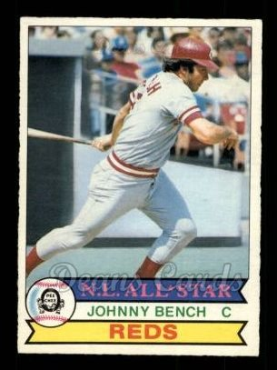1979 O-Pee-Chee #101  Johnny Bench