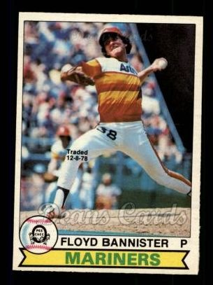 1979 O-Pee-Chee #154 TR Floyd Bannister