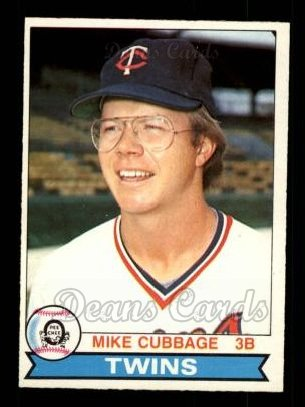 1979 O-Pee-Chee #187  Mike Cubbage