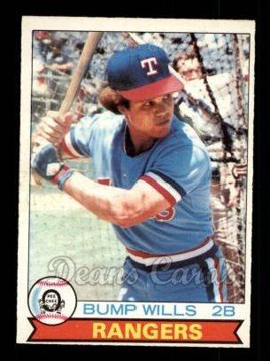 1979 O-Pee-Chee #190  Bump Wills