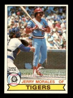 1979 O-Pee-Chee #235 TR Jerry Morales