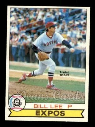 1979 O-Pee-Chee #237 TR Bill Lee