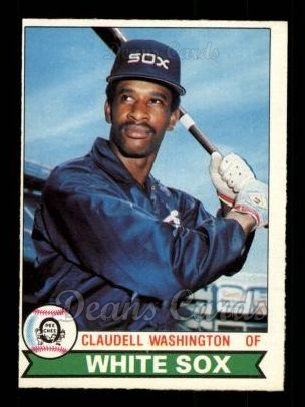 1979 O-Pee-Chee #298  Claudell Washington
