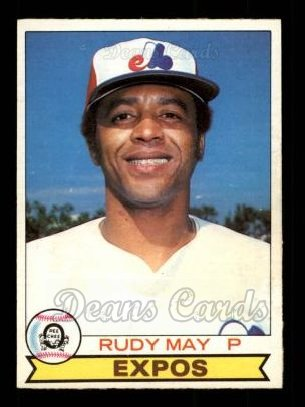 1979 O-Pee-Chee #318  Rudy May