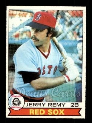 1979 O-Pee-Chee #325  Jerry Remy