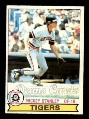 1979 O-Pee-Chee #368  Mickey Stanley