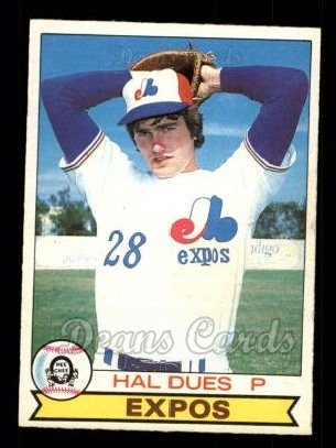 1979 O-Pee-Chee #373  Hal Dues