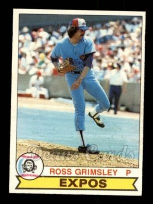 1979 O-Pee-Chee #4  Ross Grimsley