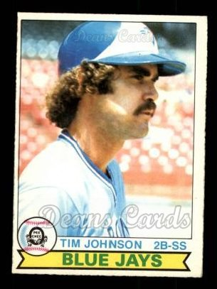 1979 O-Pee-Chee #89  Tim Johnson