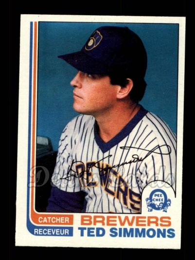 1982 O-Pee-Chee #150  Ted Simmons