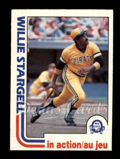 1982 O-Pee-Chee #188   -  Willie Stargell In Action