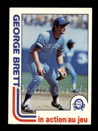 1982 O-Pee-Chee #201   -  George Brett In Action