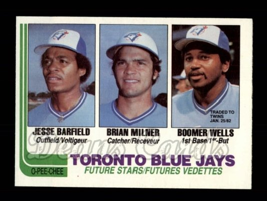 1982 O-Pee-Chee #203  Blue Jays Prospects