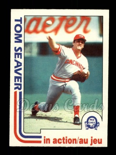 1982 O-Pee-Chee #31   -  Tom Seaver In Action