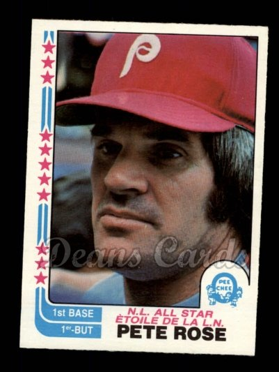 1982 O-Pee-Chee #337   -  Pete Rose All-Star
