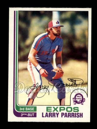 1982 O-Pee-Chee #353  Larry Parrish