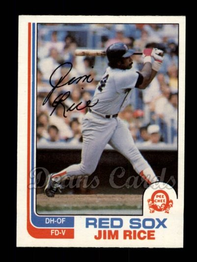 1982 O-Pee-Chee #366  Jim Rice