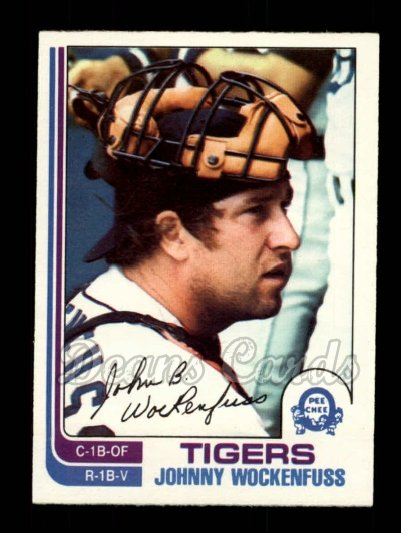 1982 O-Pee-Chee #46  Johnny Wockenfuss