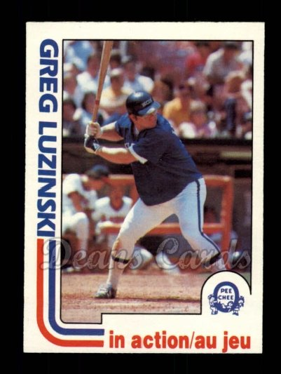 1982 O-Pee-Chee #69   -  Greg Luzinski In Action