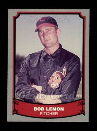 1988 Pacific Legends #32  Bob Lemon