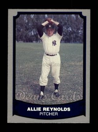 1988 Pacific Legends #41  Allie Reynolds