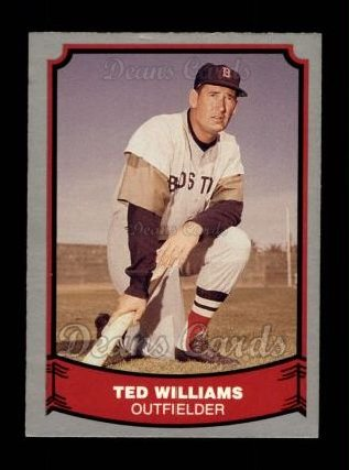1988 Pacific Legends #50  Ted Williams