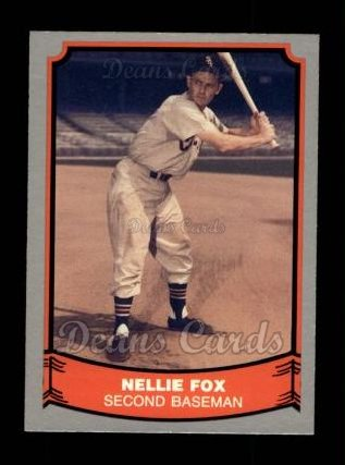 1988 Pacific Legends #57  Nellie Fox