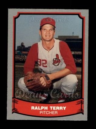 1988 Pacific Legends #64  Ralph Terry