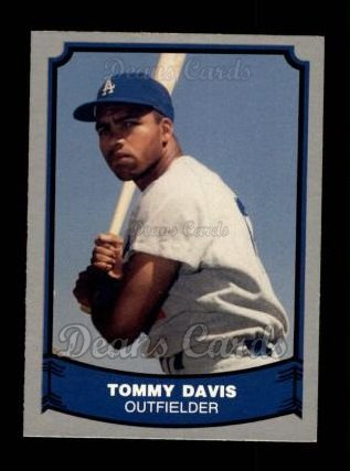 1988 Pacific Legends #83  Tommy Davis