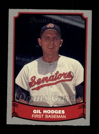 1988 Pacific Legends #87  Gil Hodges