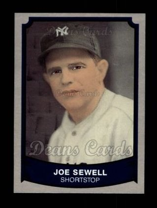 1989 Pacific Legends #125  Joe Sewell