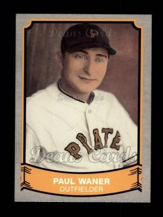 1989 Pacific Legends #127  Paul Waner